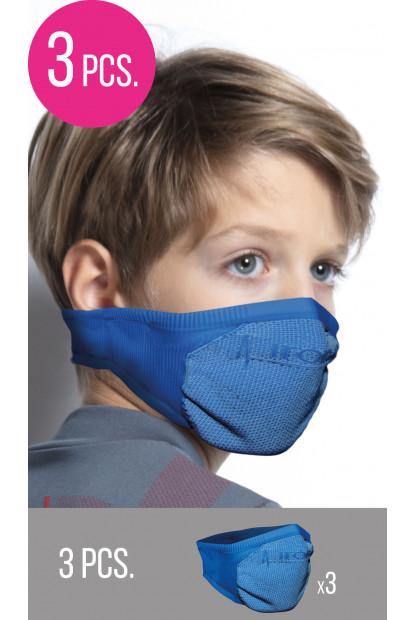 Performance mask - mascherine sportive junior (4-12 anni)- promo 3 pezzi