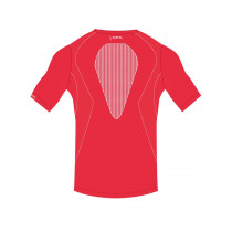 Short sleeve t-shirt bella ciao man performance +5° / +35° - red