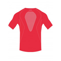 Short sleeve t-shirt holydays man performance +5° / +35° - red